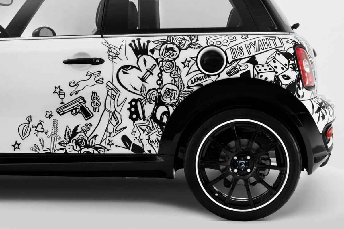 декоративная наклейка авто