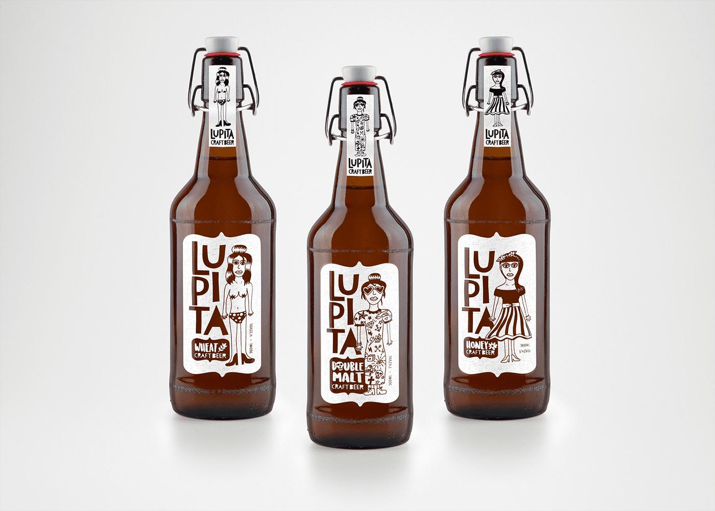 этикетка на пиво
