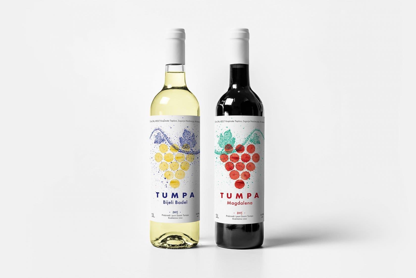 наклейки на вино