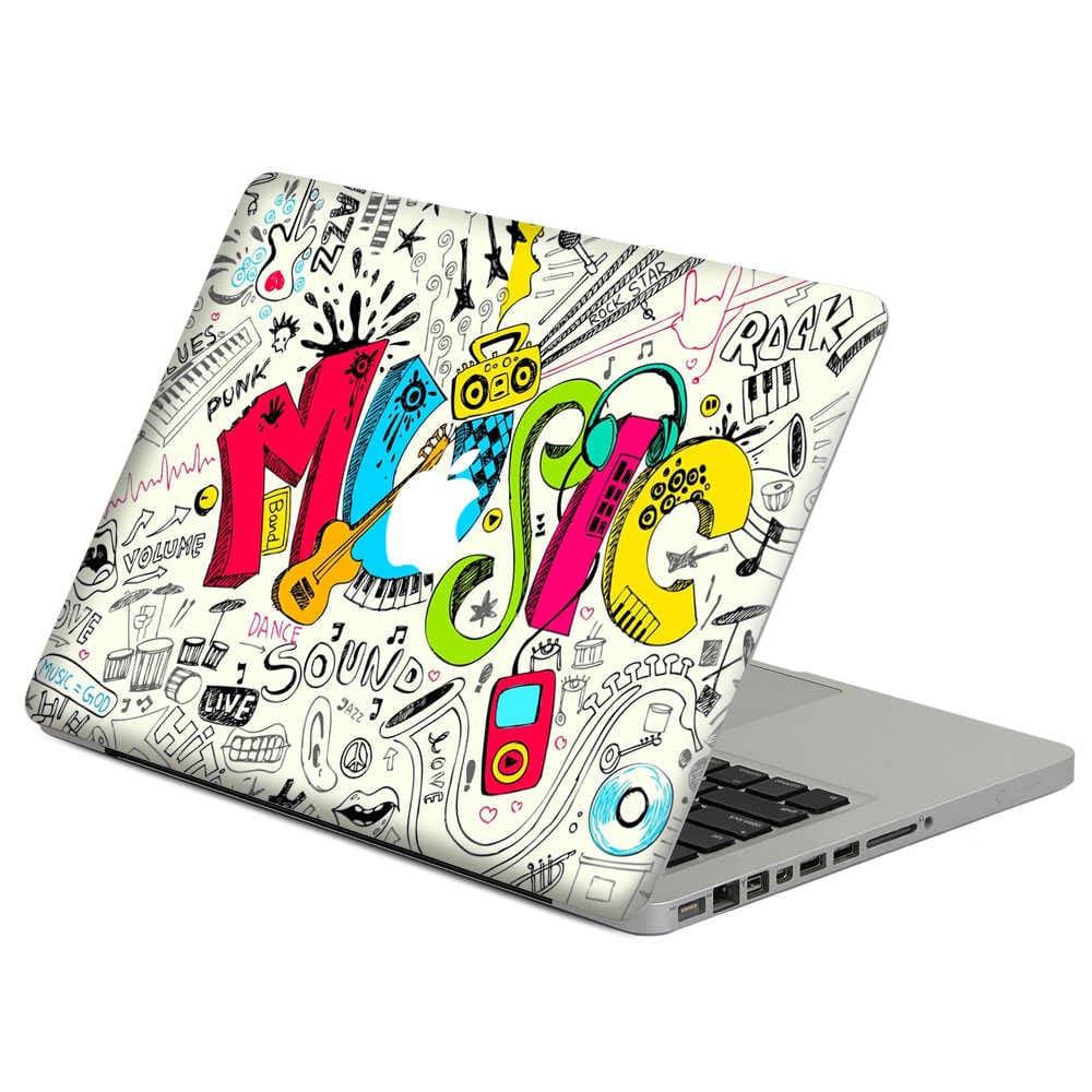 виниловая наклейка на ноутбук